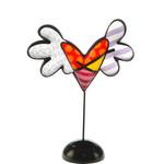 Goebel Porzellanmanufaktur Herz Love is Colorful -  R. Britto