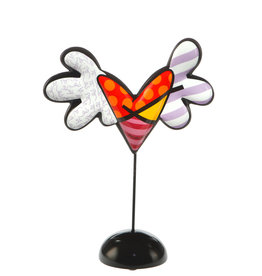 Goebel Porzellanmanufaktur Herz Love is Colorful -  R. Britto
