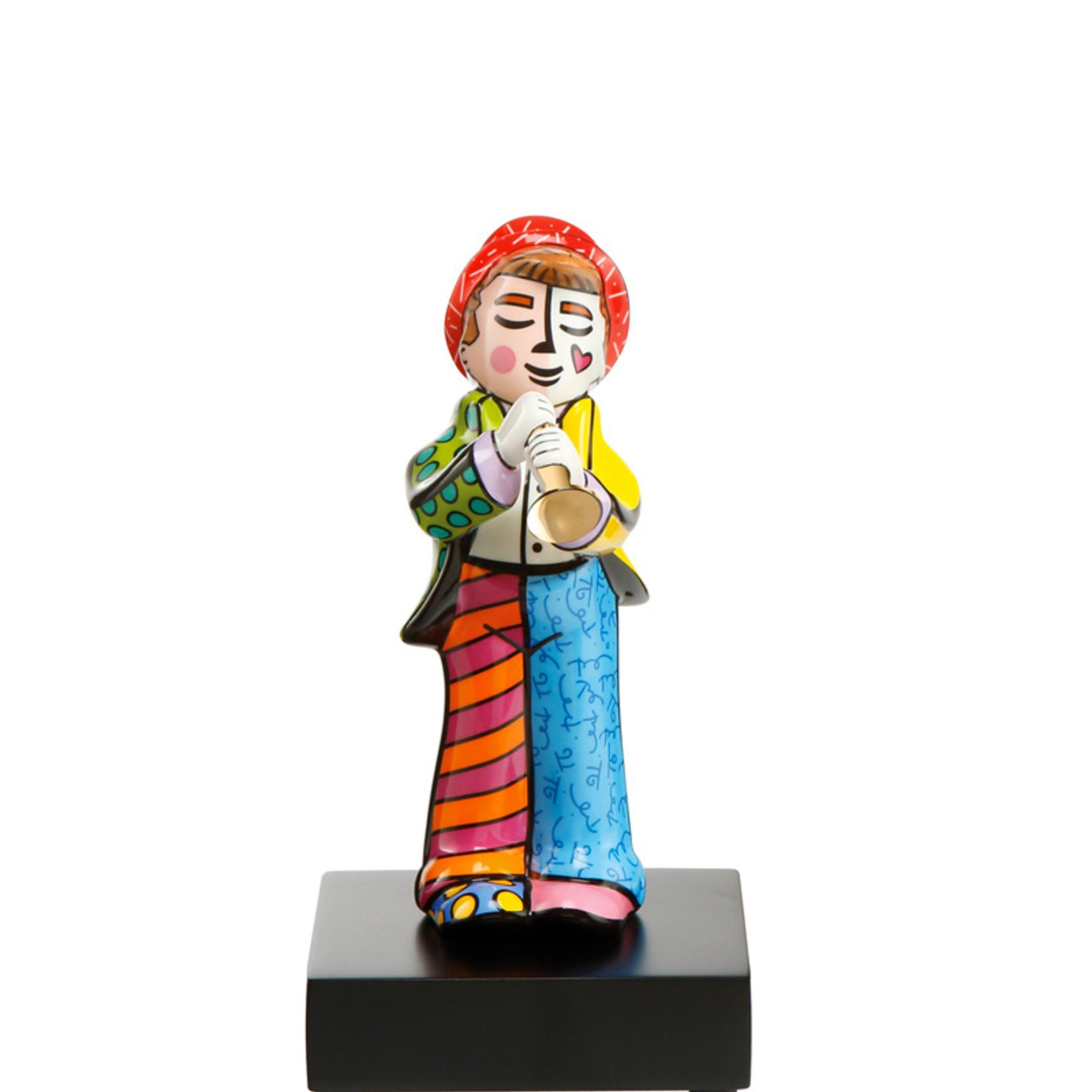 Goebel Porzellanmanufaktur Figur Trompeter   Romero Britto   Goebel Porzellan