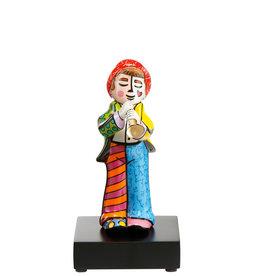 Goebel Porzellanmanufaktur Figur Trompeter-  R. Britto