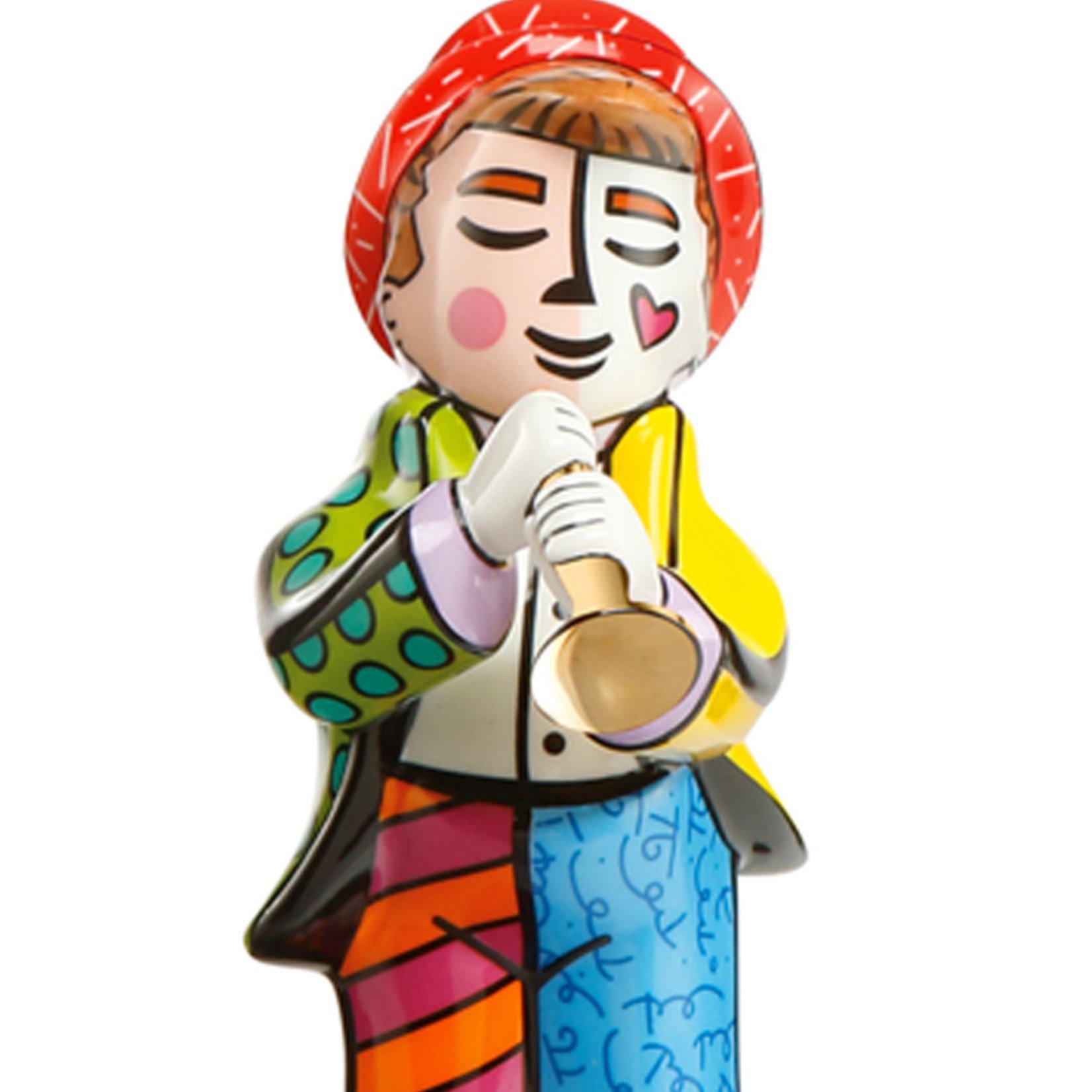Goebel Porzellanmanufaktur Figur Trompeter | Romero Britto | Goebel Porzellan