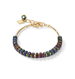 Coeur de Lion Schmuck Armband 4974/30-1500, multicolor-gold