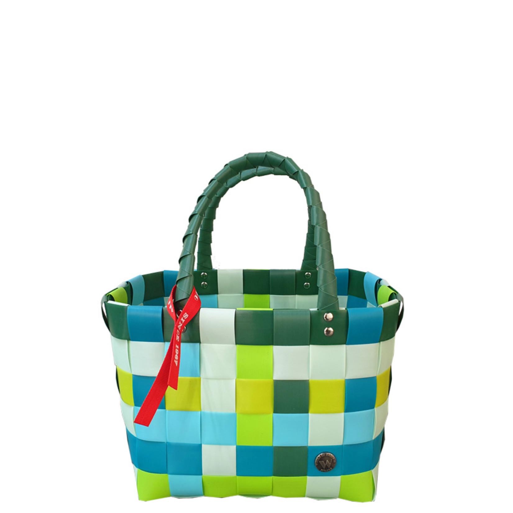 ICE BAG Taschen ICE BAG Mini Shopper 5008-14   Original Witzgall Tasche   grün-blau