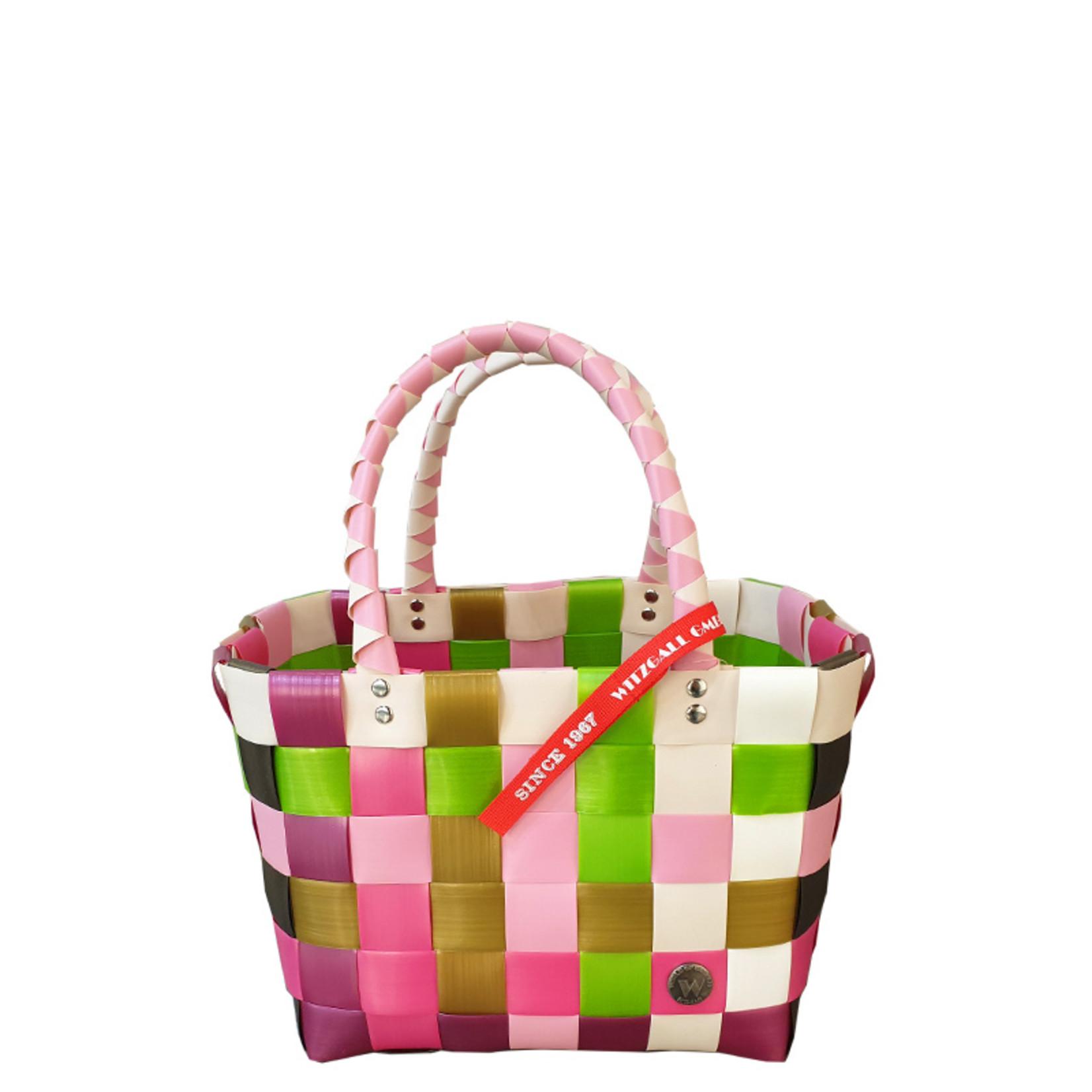 ICE BAG Taschen ICE BAG Mini Shopper 5008-39   Original Witzgall Tasche   rosa -pink-grün