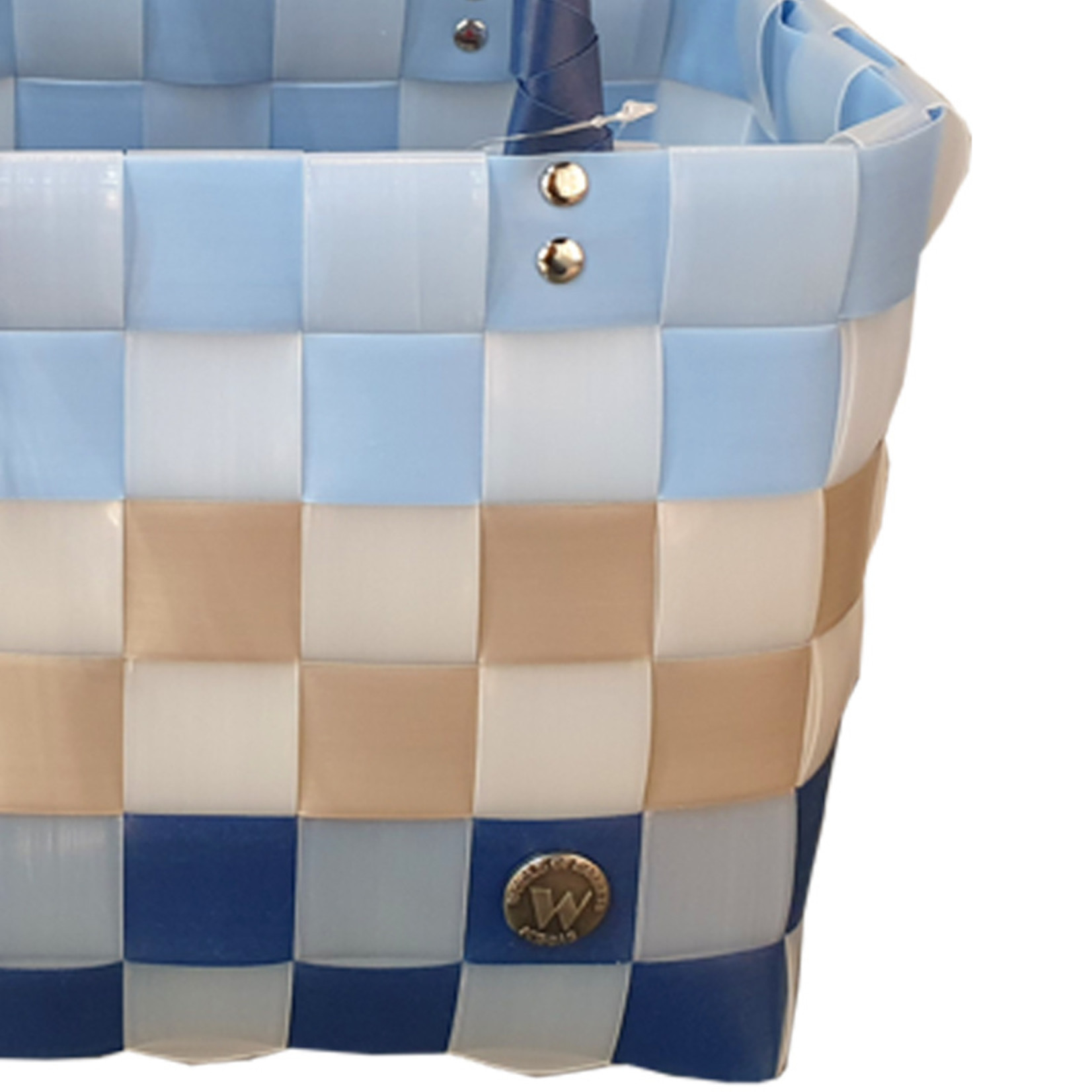 ICE BAG Taschen ICE BAG Mini Shopper 5008-42 | Original Witzgall Tasche | blau-beige