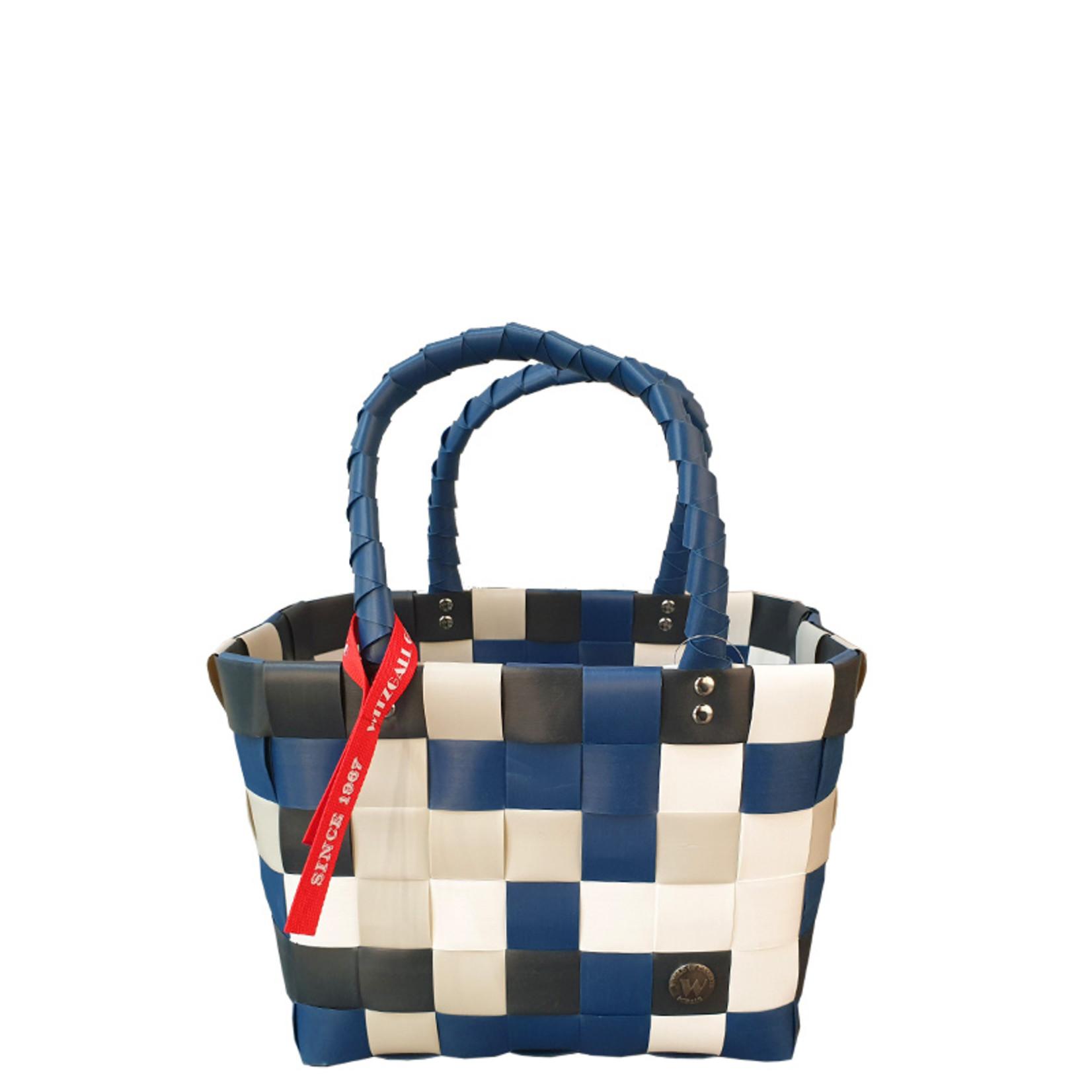ICE BAG Taschen ICE BAG Mini Shopper 5008-65 | Original Witzgall Tasche | blau-weiß