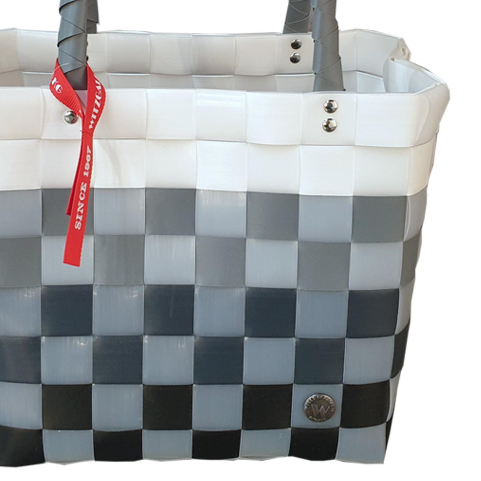 ICE BAG Taschen ICE BAG Shopper 5009-98 | Original Witzgall Tasche | grau-weiß