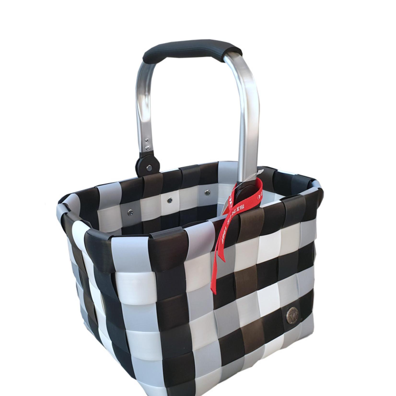 ICE BAG Taschen ICE BAG BASKY Shopper 5035-16   Witzgall Premium   grau-weiß