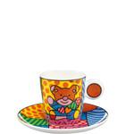 Goebel Porzellanmanufaktur Espressotasse Truly Yours -  R. Britto
