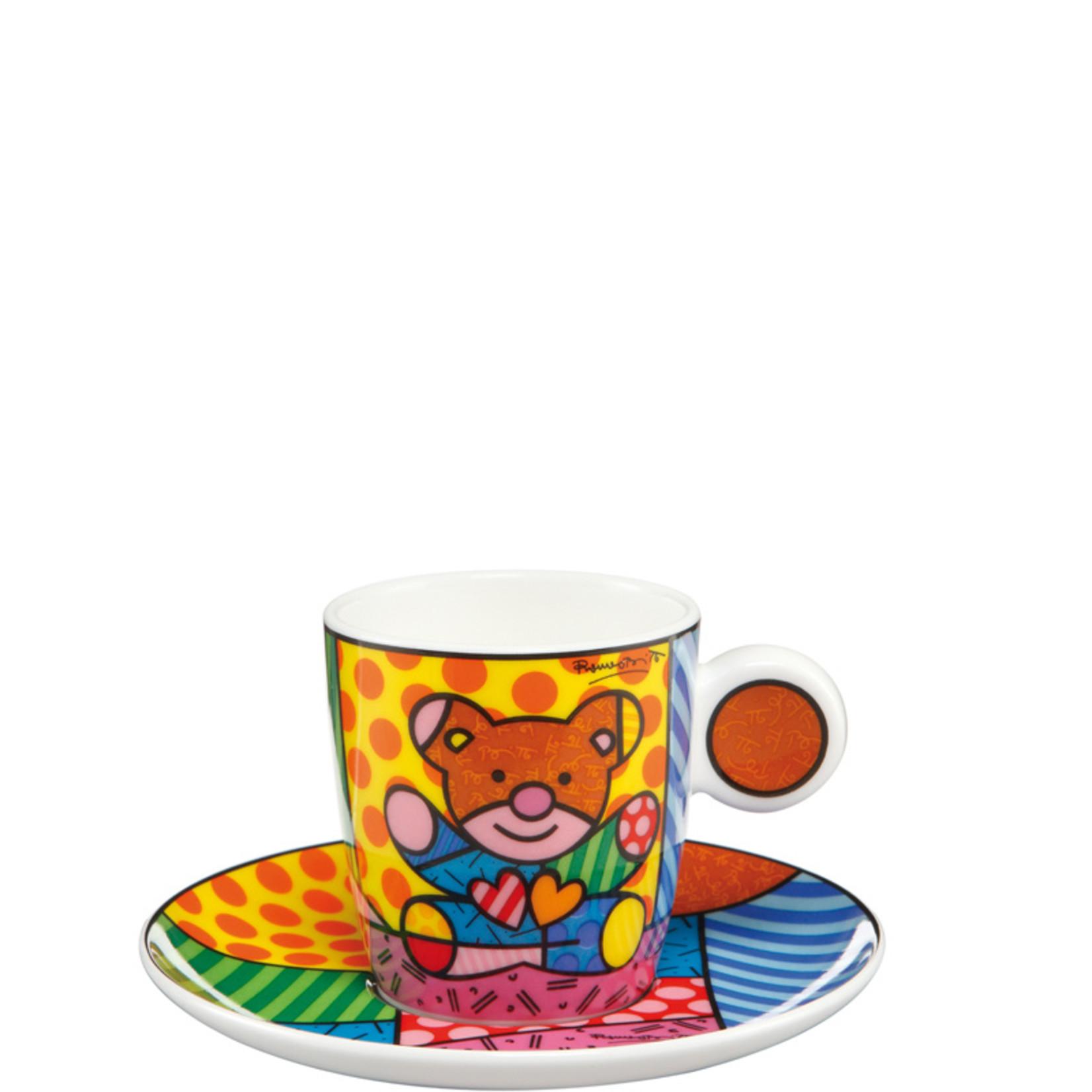 Goebel Porzellanmanufaktur Espressotasse Truly Yours | Romero Britto | Goebel Porzellan