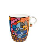Goebel Porzellanmanufaktur Kaffeebecher Spring Elephant -  R. Britto