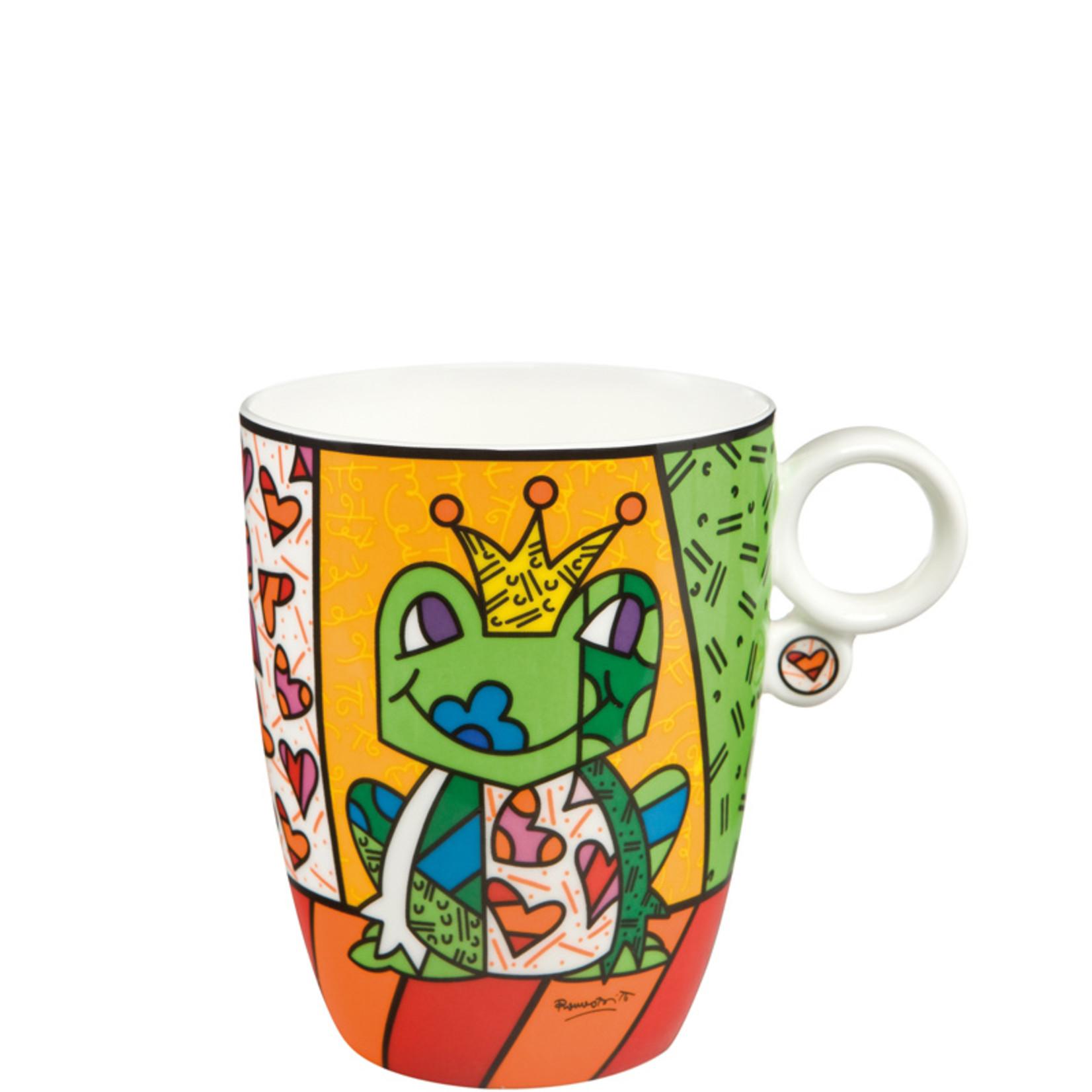 Goebel Porzellanmanufaktur Kaffeebecher Prince   Romero Britto   Goebel Porzellan