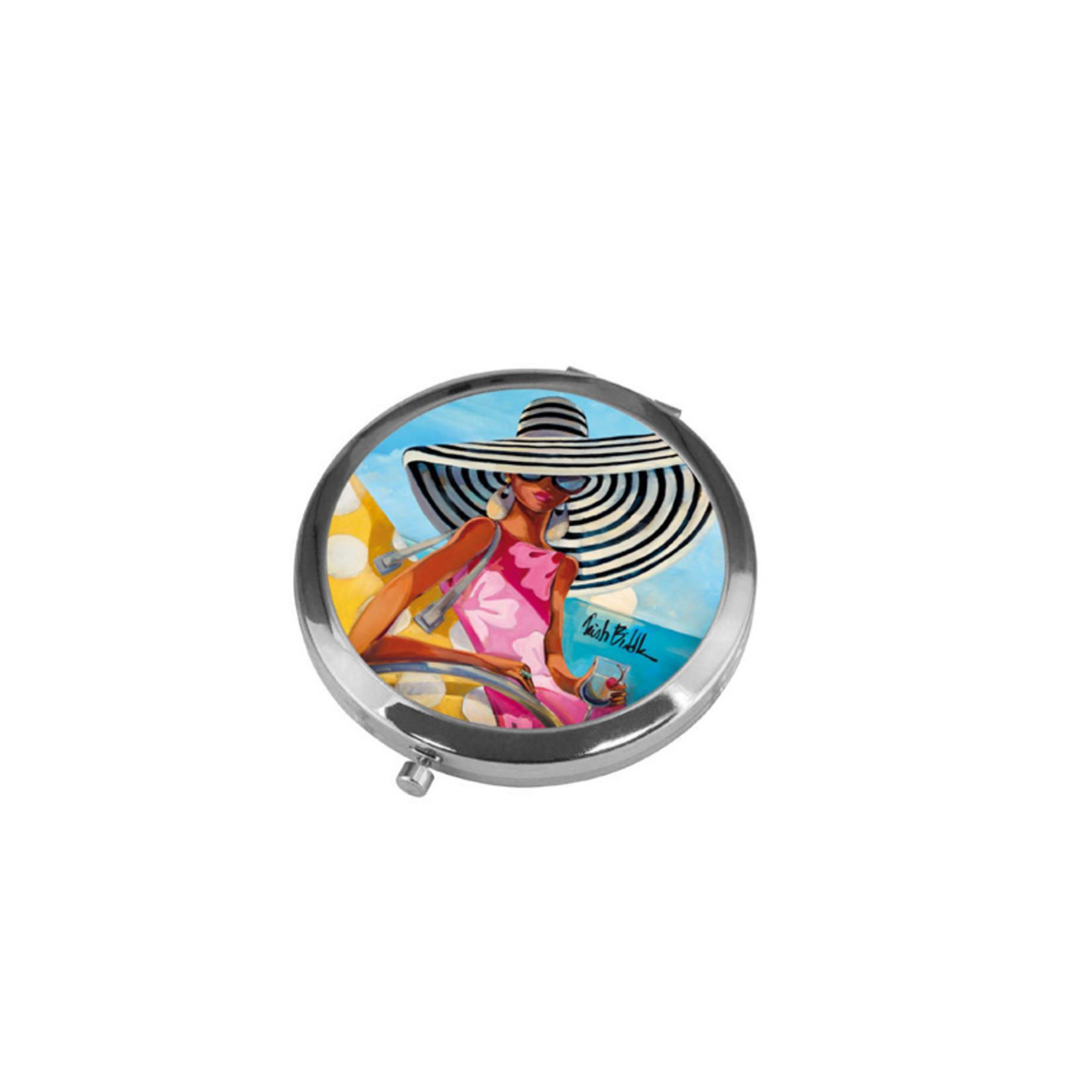 Goebel Porzellanmanufaktur Taschenspiegel Summer Girl | Trish Biddle | Goebel Porzellan