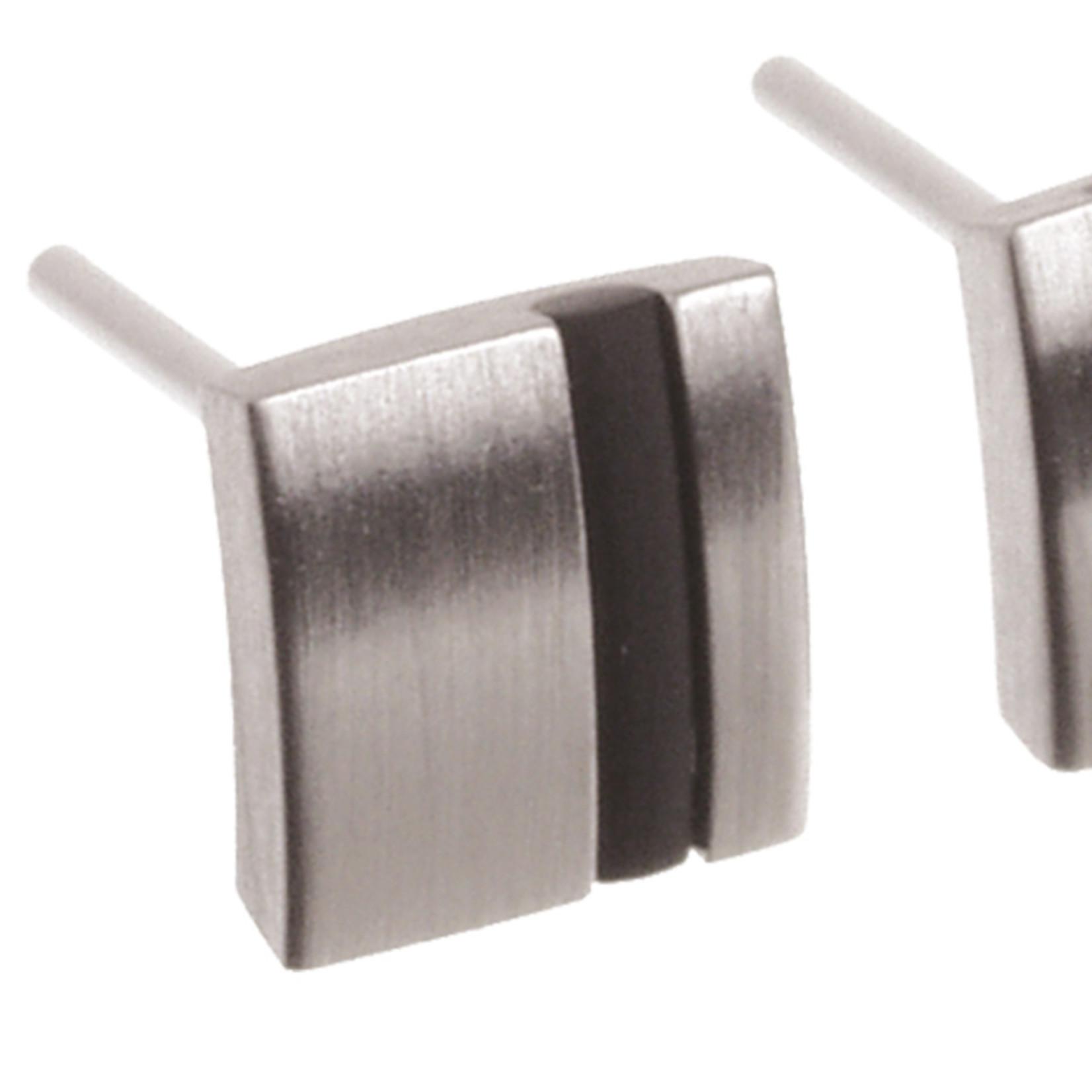 Ernstes Design Stahlschmuck Ohrstecker E156 | Ernstes Design | Edelstahl, Kautschuk