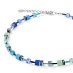 Coeur de Lion Schmuck Collier 2838/10-0705, blau-grün