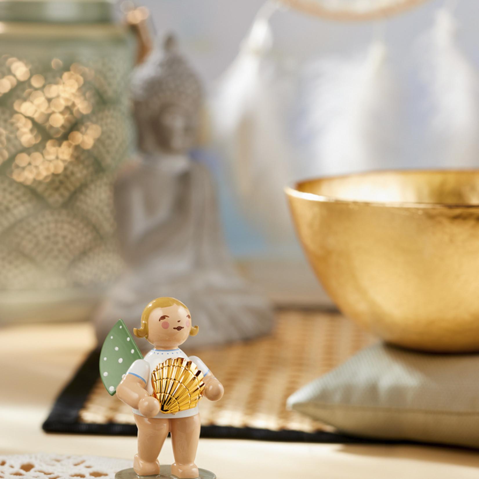 Wendt & Kühn Goldedition No 14   Entdecker   Engel mit goldener Muschel