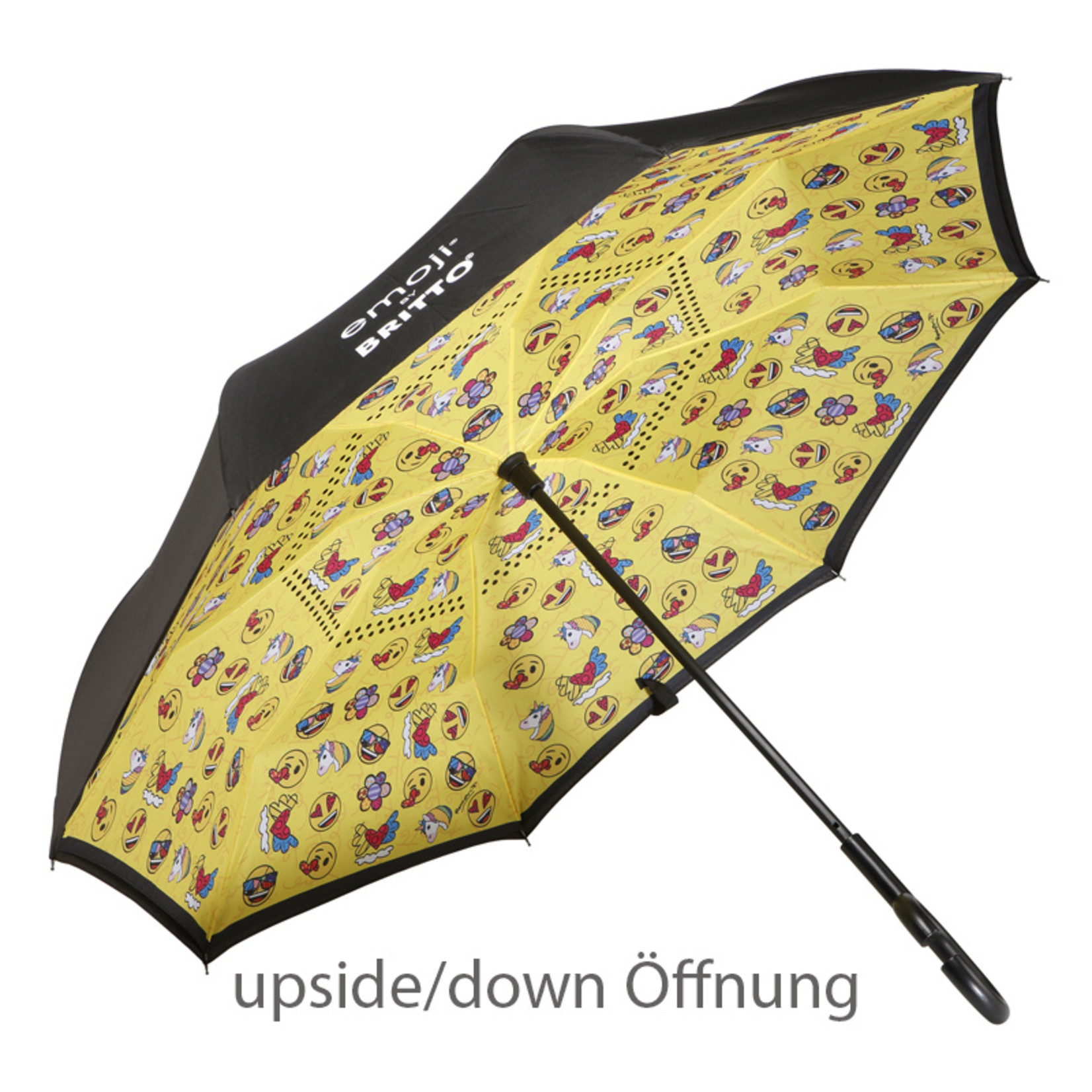 Goebel Porzellanmanufaktur Stockschirm | Romero Britto | Emojis® by Britto® | Summer Feelings