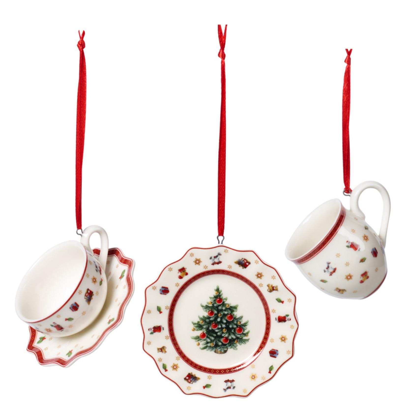 Villeroy & Boch  Hänger Set Geschirr | Villeroy & Boch Toy's Delight Decoration
