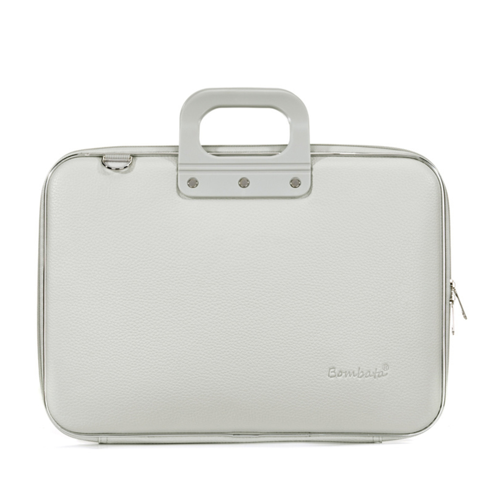 "Bombata Taschen Laptoptasche 15,6"" | Bombata Classic | Notebooktasche grau"