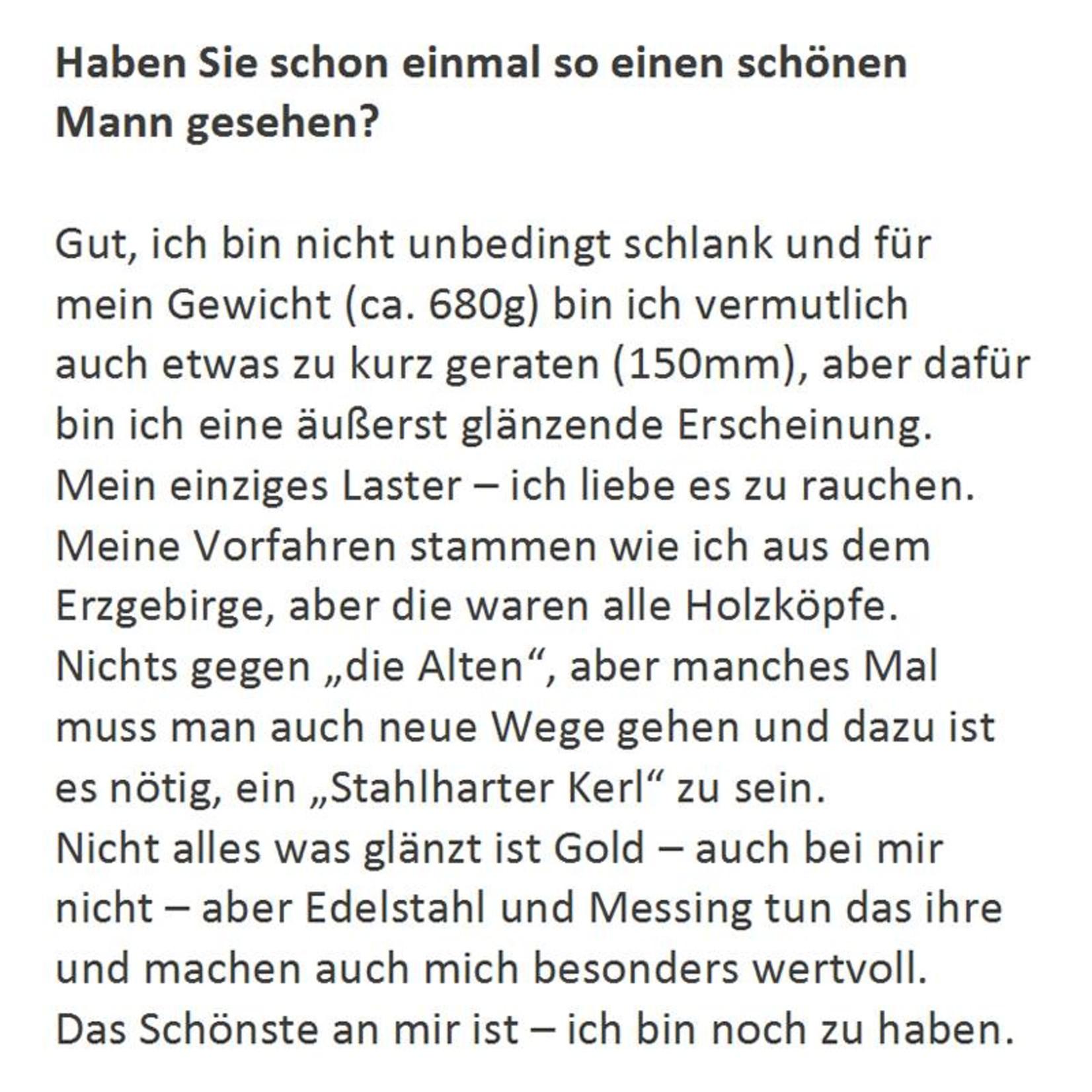 "Adamas Brass Räuchermann ""Guter Hirte"" I Edelstahl I Erzgebirge"