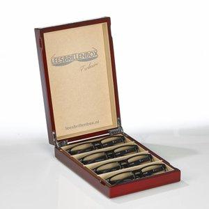 Leesbrillenbox -  Exclusive  Limited Edition als actiepakket compleet!