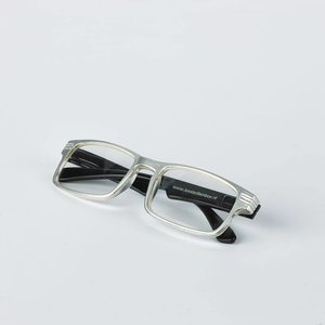 silver/black reading glasses
