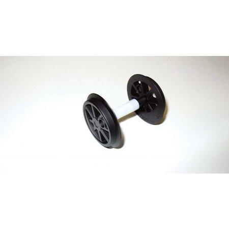 PIKO Radsatz ohne Zahnrad für US Dampflok