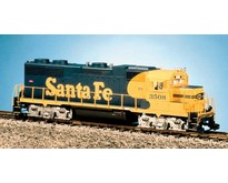 GP 38-2 Santa Fe blau/gelb