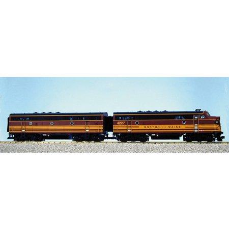 USA TRAINS F3 AB Boston & Maine (2 Loks)