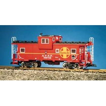 Extended Vision Caboose Santa Fe