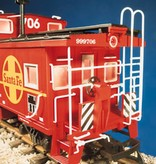 USA TRAINS Extended Vision Caboose D&RG
