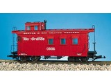 USA TRAINS Woodsided Caboose Rio Grande