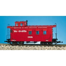Woodsided Caboose Rio Grande