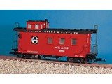 USA TRAINS Woodsided Caboose Santa Fe