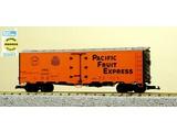USA TRAINS 40 ft. Refrigerator Car Pacific Fruit Express - SP & UP