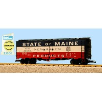 40 ft. Refrigerator Car State Of Maine - New Haven