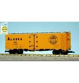 USA TRAINS 40 ft. Refrigerator Car Alaska