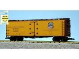 USA TRAINS 40 ft. Refrigerator Car Union Pacific Overland