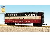 USA TRAINS 40 ft. Refrigerator Car State Of Maine-Bangor & Aroostook