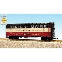 40 ft. Refrigerator Car State Of Maine-Bangor & Aroostook
