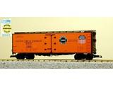USA TRAINS 1.SET 4x 40 ft. Refrigerator Car Pacific Fruit Express - SP & UP
