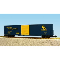 60 ft. Boxcar C&O Single Door