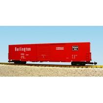 60 ft. Boxcar Burlington Route Single Door