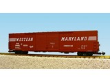 USA TRAINS 60 ft. Boxcar Western Maryland Double Door