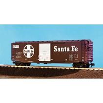50 ft. Boxcar Santa Fe
