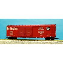 50 ft. Boxcar Burlington Route