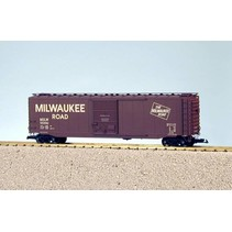 50 ft. Boxcar Milwaukee Road