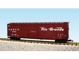 USA TRAINS 50 ft. Boxcar Rio Grande