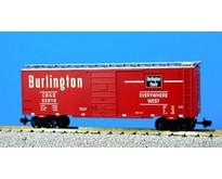 40 ft. Boxcar Burlington Route