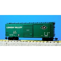 40 ft. Boxcar Lehigh Valley